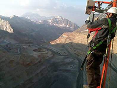 Mine extérieure Chili